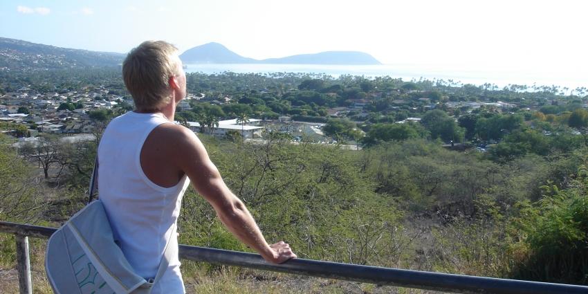 Jag spanar Hawaii